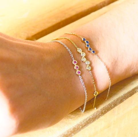 Bracelet or - 57 Facettes.