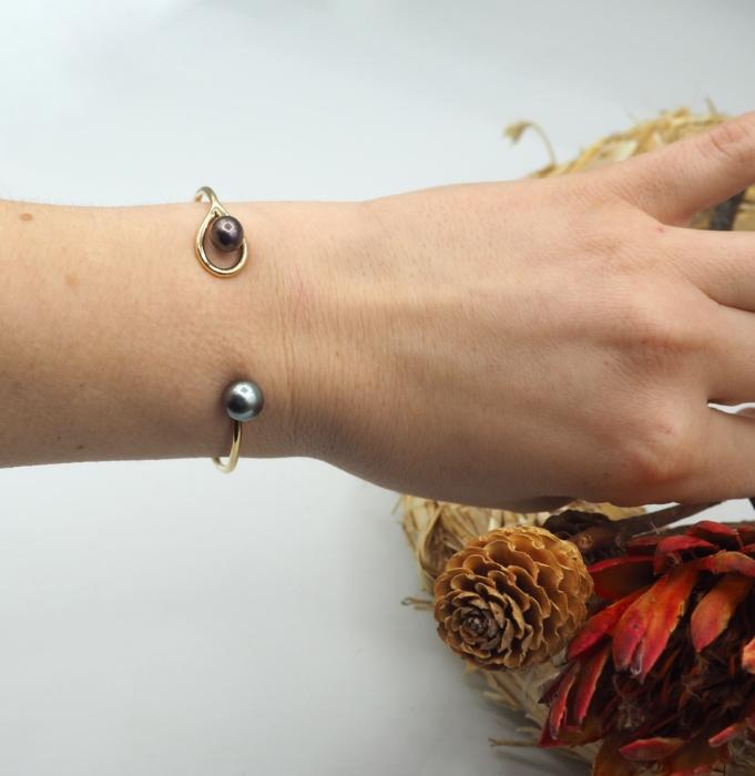 Bracelet or jaune fairmined - 57 Facettes.
